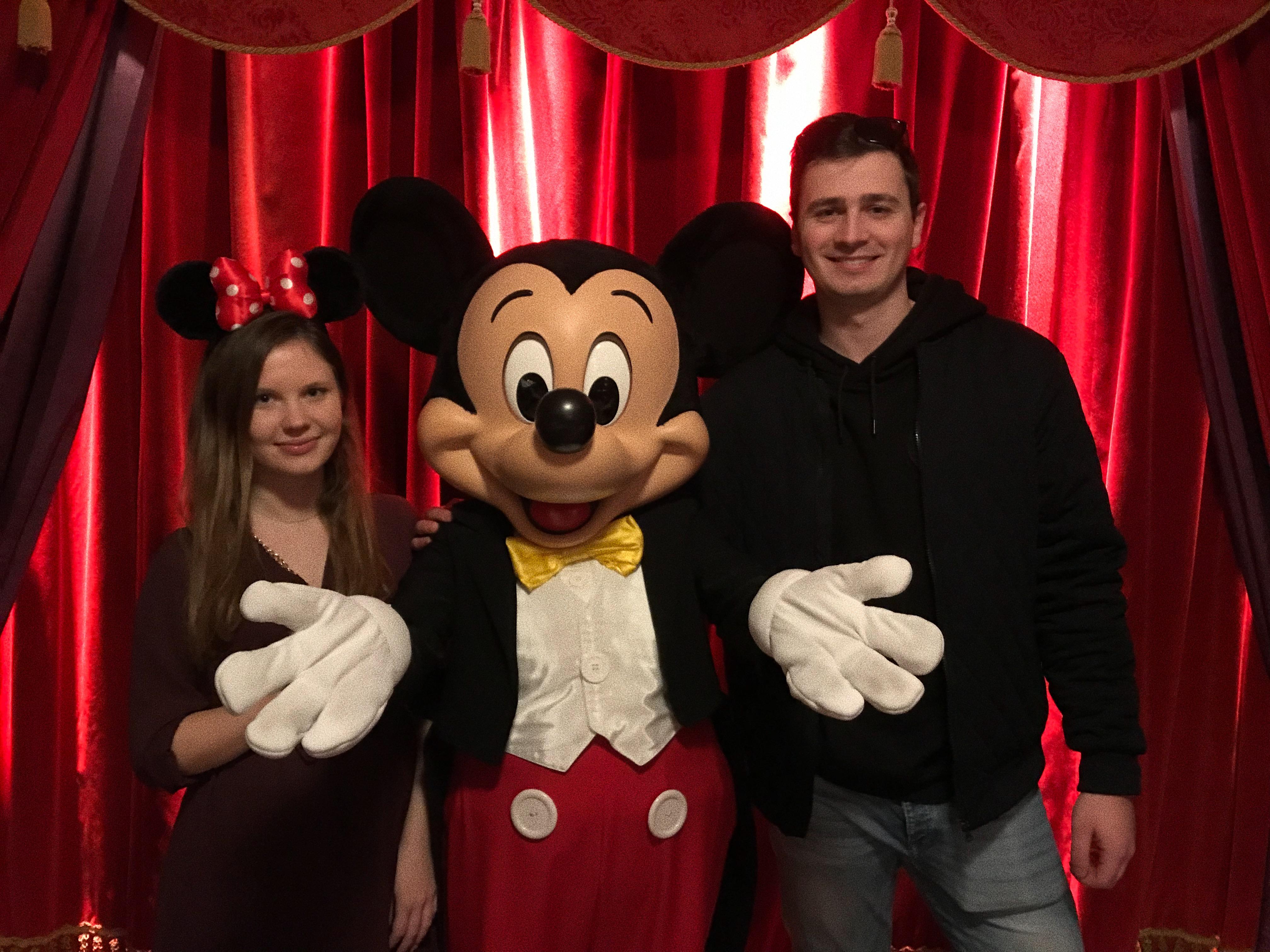 urodziny w Disneylandzie Myszka Mickey