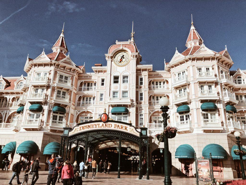Disneyland wejście