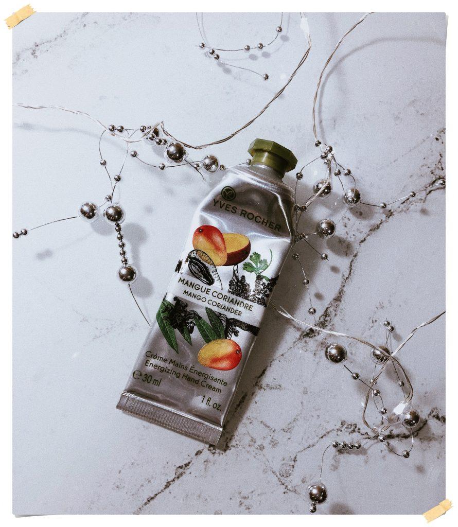 Yves Rocher Mango Coriander Energizing Hand Cream